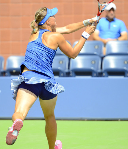 Lucie Hradecka - 2014 US Open (Tennis) - Qualifying Rounds - Lucie Hradecka
