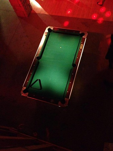 """Pinspot Lighting on Pool Table • <a style=""""font-size:0.8em;"""" href=""""http://www.flickr.com/photos/81396050@N06/14804201557/"""" target=""""_blank"""">View on Flickr</a>"""
