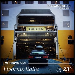 Made with @instaweatherpro Free App! #instaweather #instaweatherpro #weather #wx  #livorno #italia #day #summer #morning #it (Fatabugiarda) Tags: sea square mare corse corsica squareformat cibo ferie vacanze iphoneography instagramapp uploaded:by=instagram