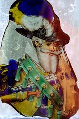 Split Beard (Mamluke) Tags: ireland portrait male art broken window glass hat beard ventana artwork gun pieces arte retrato fenster kunst feather stainedglass irland collection finestra uomo german weapon mens sword colored mann split portret coloured cristal fentre ritratto glas bantry bantryhouse countycork hombre homme irlanda deutsch irlande verre vetro 16thcentury allemand ierland duits venster collected oddsandends alemn sixteenthcentury tedesco ire mamluke