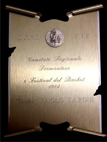 Festival del Basket 1983 - Trofeo Paolo Taroni