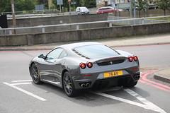 Ferrari F430 F1 (kenjonbro) Tags: uk london grey blackheath rear ferrari a2 a102 se3 worldcars ferrarif430f1 kenjonbro f430f1 canoneos5dmkiii 2005ferrarif430f1 delacourtroad suninthesandsroundabout 76av canonzoomlensef9030014556