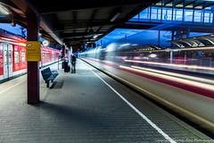 transparent train (thomas.roesl) Tags: ice speed bahnhof drivethru hbf ulm nachtaufnahme bundesbahn sigma1020mmf456 hochgeschwindigkeitszug durchfahrt dbice nikond7100