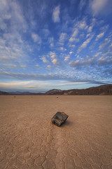 The Racetrack, Death Valley (Jeffrey Sullivan) Tags: california park copyright usa lake jeff mystery canon landscape photography death photo moving nationalpark bed rocks earth stones dry playa national clay valley deathvalley sullivan cracked slithering theracetrack sailingstones