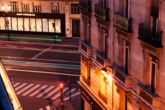 Avenue de l'Opera (Icy Sedgwick) Tags: street longexposure paris france night 1855mm canon400d