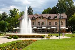Vrelo Bosne, Sarajevo, Bosnia and Herzegovina (Taylor Mc) Tags: nature sarajevo bosnia springs aleja vrelo bosniaandherzegovina bosne velika ilida