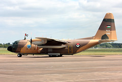 346 Lockheed C-130H Hercules, Royal Jordanian Air Force, RAF Fairford (Kev Slade Too) Tags: lockheed hercules 346 raffairford c130h royaljordanianairforce egva riat2014