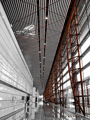 Empty Airport (Gene Tewksbury) Tags: china travel windows building abandoned home architecture hall airport asia rooms alone loneliness architecturaldetail bare empty aviation neglected structures lifestyle architectural hallway forgotten blank transportation vacant only lone lonely portal void airports forsaken residence sole stark emotions solitary desolate deserted lorn portals forlorn edifice edifices devoid residentialbuilding friendless airportterminal transportationstructures