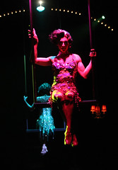 Brian Steven Shaw (Angelique)  in La Cage aux Folles, produced by Music Circus at the Wells Fargo Pavilion August 19-24, 2014. Photos by Charr Crail.
