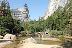 A Pond In Tenaya Creek - Yosemite National Park (Robert F. Carter Travels) Tags: worldheritagesite yosemite yosemitenationalpark nationalparks ponds creeks yosemitevalley sierranevadamountains sierramountains tenayacreek mtwatkins