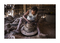 forming clay (jrockar) Tags: life city travel portrait people urban 3 man guy beautiful work canon photography village shot mark burma iii documentary craft snap business human clay madness pottery labour instant l 5d myanmar moment everyday job ef f4 1740 mk ordinary forming twante f4l ordinarymadness