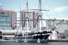 Set Sail! (irishbartender) Tags: summer water md nikon ship baltimore sail innerharbor ussconstellation d7000