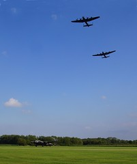 3 Lancs day at East Kirkby (66Alpine) Tags: 3 tour canadian lincolnshire vulcan bomber vera thumper avro lancasters justjane bbmf coningsby eastkirkby