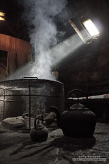 Ray of Light (DMeadows) Tags: house history home island fire scotland living highlands open tea room smoke guard lewis historic kettle peat highland croft visitor crofting isle quarters fuel attraction arnol blackhouse davidmeadows dmeadows