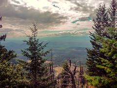 Near the Summit (djking) Tags: canada mountains view britishcolumbia valey rosenlake