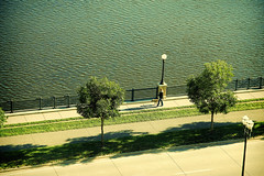 Walk The Dog (SPP - Photography) Tags: minnesota mississippiriver twincities saintpaul mightymississippi