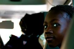 Girl on bus (JP Theberge) Tags: art haiti amputees challengedathletes