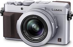 silver lumix panasonic 4k lx100