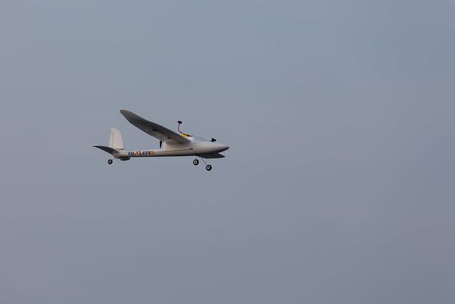 Glenn flying his FPV Bixler.