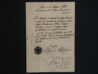 Certificato di nascita di Faustina Foglieni, 24 ottobre 1862