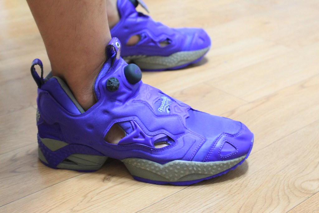 162daf15e359 IMG 0392 (baby and sneaker) Tags  japan purple tent pump pack fury reebok  insta