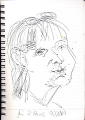 2014.09.02 50 Views of Maureen in 25 Days (d15v29) (Julia L. Kay) Tags: sanfrancisco party portrait blackandwhite bw woman white black art face female pen paper sketch san francisco artist arte julia kunst kay daily dessin peinture portraiture 365 everyday dibujo artista artiste knstler portraitparty juliakay jkpp julialkay juliakaysportraitparty jkppfeed