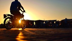 Wheels in motion.   5 (Mark Fearnley Photography) Tags: sunset bike bicycle fuji morocco cycle marrakech fujifilm fujix100s