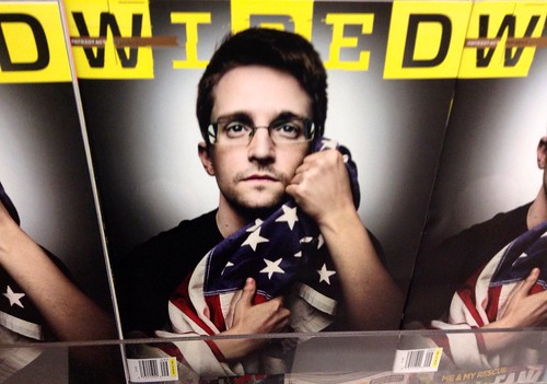 Edward Snowden Wired Magazine by JeepersMedia, on Flickr