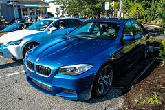 2012 BMW M5 F10 (Rivitography) Tags: blue car canon rebel automobile connecticut fast f10 exotic adobe german bmw t3 expensive rare m5 supercar horsepower lightroom newcanaan 2014 rivitography