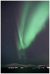 Northern Beauty (agnieszka.falkowska) Tags: trip travel winter sky snow mountains green norway norge paradise arctic aurora atmospheric northernlights auroraborealis arcticcircle tromso troms phenomena northpole