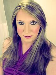 Recent(ish) selfie (Sarah★Jane) Tags: female tv feminine cd makeup tgirl transgender blonde lipstick eyeshadow transgendered tg ukangels feminising transgenderism