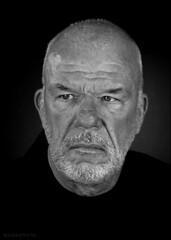 Fred van Kaam (Emil de Jong - Kijklens) Tags: portrait film zwartwit actor portret televisie acteur toneel speler kaam