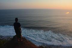 Uluwatu Temple - Bali (Thaís Brandi Canello) Tags: ocean life sunset people bali nature indonesia peace