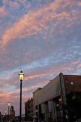 Sunset over Lowell (ganagafoto) Tags: sunset usa america travels tramonto massachusetts viaggi lowell ganagafoto