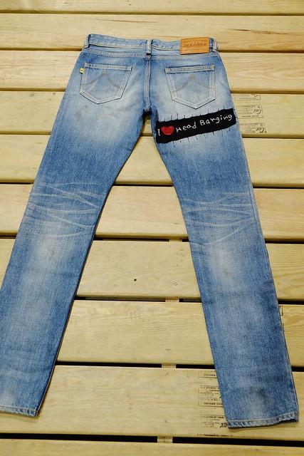 JEANSDA金斯大Fenrir Metalhead Aged Jeans
