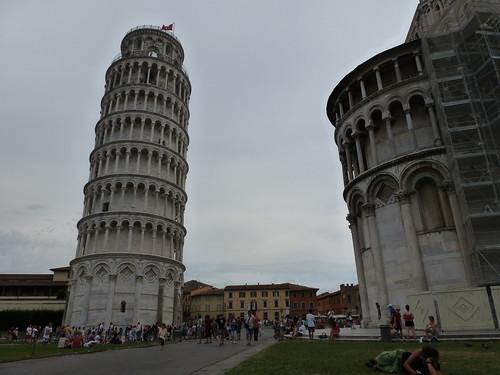 La tour de Pise!