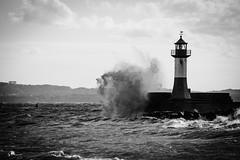 Sturm auf Rgen (ThomasWink92) Tags: deutschland germany canon sassnitz hafen leuchtfeuer leuchtturm sturm 2016 hollyday urlaub rgen