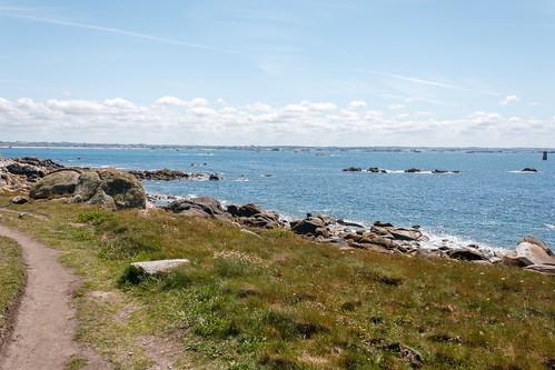 L'Île de Batz, proche du trou aux serpents