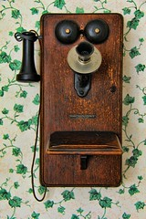 Choose Your Ringtone (David K. Edwards) Tags: telephone archaic antique wallpaper ring partyline eavesdrop ringtone twillingate newfoundland
