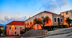 Kartaba Municiality, Lebanon (Paul Saad) Tags: kartaba qartaba lebanon pano panorama panoramic hdr sky village houses outdoor municipality lights color colour sunrise sunset dusk dawn