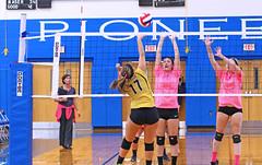 IMG_9951-01 (SJH Foto) Tags: girls volleyball high school lampeterstrasburg lampeter strasburg solanco team tween teen east teenager varsity net battle spike block action shot jump midair