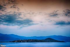 The island of Saint Achillios in the Small Prespa Lake. (CyberDEL1) Tags: macedonian macedoniatimeless macedonia macedoniagreece makedonia greece hellas prespes lake samsungnx1 samsungnx1650228s