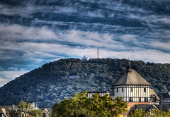 Autumn Sky Waves Roanoke Star & Hotel Roanoke (Terry Aldhizer) Tags: autumn sky waves roanoke star hotel conference center mill mountain blue ridge city trees clouds october fall terry aldhizer wwwterryaldhizercom