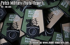 Patch Military-Photo-Report (Model-Miniature / Military-Photo-Report) Tags: patch patches scratch pvc velcro militaryphotoreport military photo report