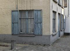 brugge/ bruges (gerben more) Tags: window blinds grey street house houses belgium brugge bruges