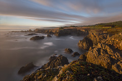 The Sea Ranch (The Man in Red) Tags: searanch clearingstorm sunset longexposure