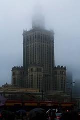 La Tour de Babel (dominiquita52) Tags: poland warsaw palaisdelacultureetdessciences varsovie fog brouillard tower tour