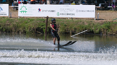 20160903_132145_DSC_5833 (seiichi_sugano) Tags: waterski waterskiing watersports water championship collegiate jccw jump trial ob oogata akita japan   og