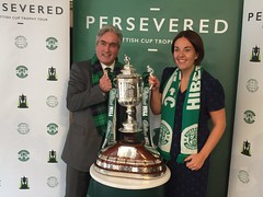With Scottish Cup for Persevered tour