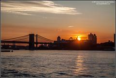 Brooklyn Sunrise (jeremy.fountain) Tags: ny nyc newyorkcity brooklyn eastriver thewatchtower brooklynbridge manhattanbridge newyork unitedstates